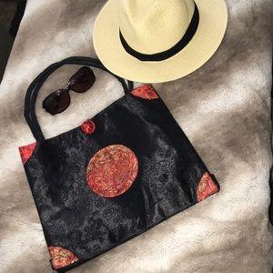 Handmade silk purse